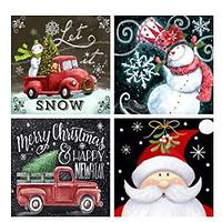 Holiday Diamond Art 4 Pack
