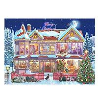Holiday House Diamond Art Kit