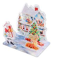 Holiday Scene Stand-up Decoration Diamond Art Kit