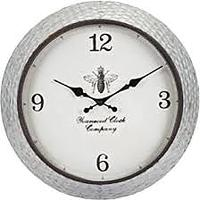 Honey Bee Galvanized Wall Clock