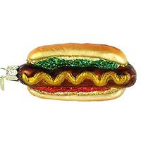 Hot Dog Holiday Ornament