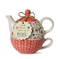I Smile Because You're My Mother Teapot