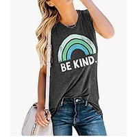 IRISGOD Womens Be Kind Tank Top (Bestseller)