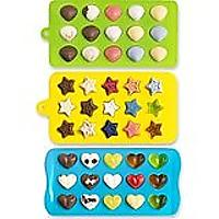Ice Cube Trays - Hearts, Stars & Shells