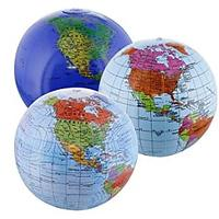 Inflatable World Globes (Set of 3 Designs)