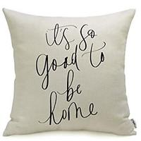 It's So Good to Be Home Pillow Cover