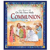 """Jesus Speaks to Me on My First Holy Communion"""