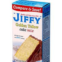 Jiffy Golden Cake Mix