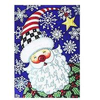 Jolly Santa Diamond Art Kit