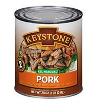 Keystone Meats All Natural Canned Pork