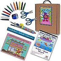 Left-handed Art & Activity Kit