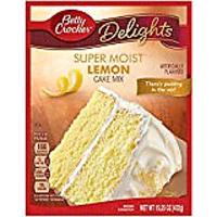 Lemon Cake Mix