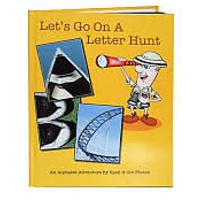 """Let's Go on a Letter Hunt: An Alphabet Adventure by Spell-It-Out Photos"""