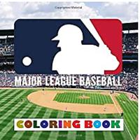 Major League Baseball Coloring Book
