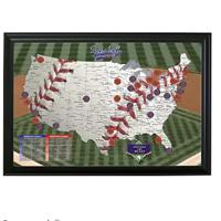 Major League Baseball Scratch Maps
