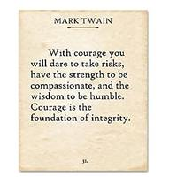Mark Twain - With Courage
