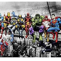 Marvel Characters Chillin'