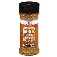McCormick Garlic and Onion, Black Pepper and Sea Salt All Purpose Seasoning
