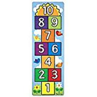 Melissa & Doug Hop & Count Hopscotch Game Rug