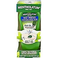 Mentholatum No Mess Vaporizing Rub on Amazon