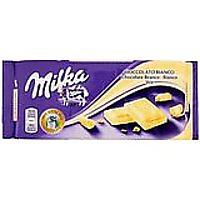 Milka (Germany) Weisse Schokolade (White Chocolate)