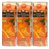 Mongibello 100% Fresh Squeezed Italian Mandarin Juice