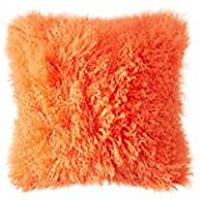 Mongolian Pillow Case Original, Tango Tangerine