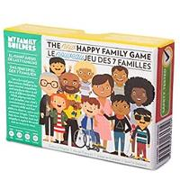 My Family Builders Happy Family Card Game for Kids and Families – Encourage Communication About Inclusion, Multicultural Diversity and Empathy