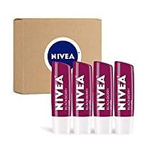 NIVEA Blackberry Lip Care (4 Pack)