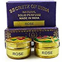 Natural Rose Fragrance Solid Perfume