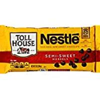 Nestle TOLL HOUSE Real Semi-Sweet Chocolate Morsels, 12 Ounces