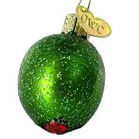 Olive Holiday Ornament
