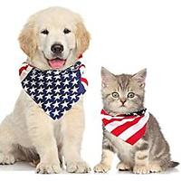Patriotic Bandanas for Dogs and Cats