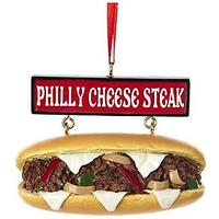 Philly Cheese Steak Sandwich Ornament