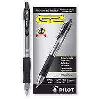 Pilot G2 Retractable Premium Gel Ink Roller Ball Pens (12 Pack)
