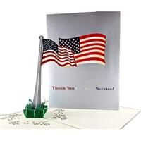 Pop-up Flag Greeting Card