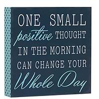 Positive Thoughts Sign