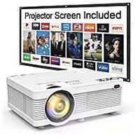 Projector With Screen Package (Bestseller)