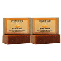 Pumpkin Spice Natural Bar Soap from Witch Hippie