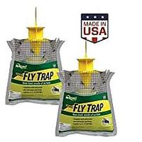 RESCUE! Outdoor Disposable Hanging Fly Trap (2 Pack)