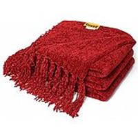 Red Fleece Throws