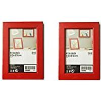 Red Picture Frames
