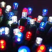 Red, White and Blue String Lights