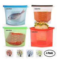 Resealable Silicone Food Storage Bags