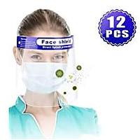 Reusable Face Shield, 12 Pack