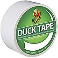 Roll over image to zoom in Duck Brand 1265015 Color Duct Tape, White