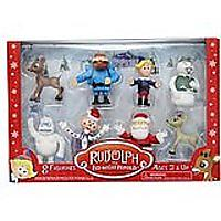 Rudolph the Red-Nosed Reindeer Main Characters PVC Figurine