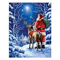 Santa & Friend Diamond Art Kit