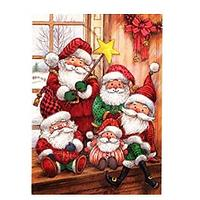 Santas Diamond Art Kit