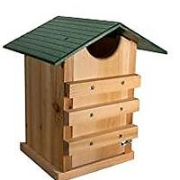 Screech Owl or Saw-Whet Owl House Cedar Nesting Box (Bestseller)